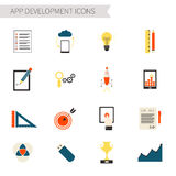 SEO icons big set Royalty Free Stock Images