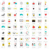 SEO icons big set Royalty Free Stock Image