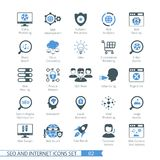 SEO icons set 02 Royalty Free Stock Photo