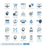 SEO icons set 04 Royalty Free Stock Photo
