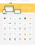 SEO icons Royalty Free Stock Photography