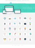 SEO icons Stock Images