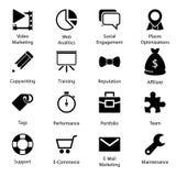 Seo Icons Vol 2 Lizenzfreie Stockbilder