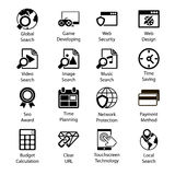 Seo Icons Vol 3 Stock Photography