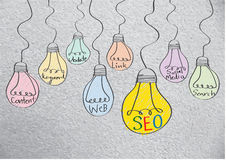 Seo Idea SEO Search Engine Optimization Royalty Free Stock Photo