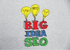 Seo Idea SEO Search Engine Optimization Stock Image