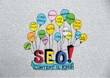 Seo Idea SEO Search Engine Optimization Stock Images