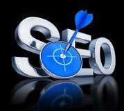 SEO-Ikone Lizenzfreies Stockbild