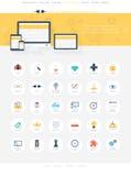 SEO ikony Fotografia Royalty Free