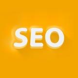 Seo_illustration Imagem de Stock