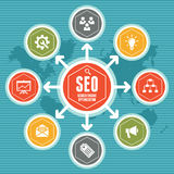 SEO Infographic Concept 01 Stock Photo