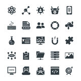 SEO and Internet Marketing Cool Vector Icons 3 royalty free illustration