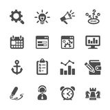 Seo and internet marketing icon set 2, vector eps10 Stock Photography
