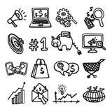 SEO internet marketing set Stock Images