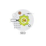 Seo Keywording Search Icon local Photo libre de droits