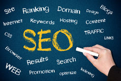 SEO keywords Stock Photo