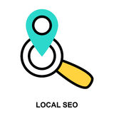 SEO LOCAL photos stock