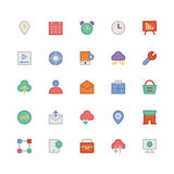 SEO and Marketing Colored Vector Icons 8 Stock Photo