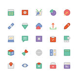 SEO and Marketing Colored Vector Icons 6 Stock Photography