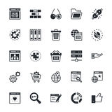 SEO and Marketing Colored Vector Icons 4 Royalty Free Stock Image