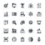 SEO and Marketing Colored Vector Icons 6 Royalty Free Stock Photos