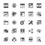 SEO and Marketing Colored Vector Icons 2 Stock Image