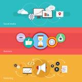 SEO-Marketing-Fahne Lizenzfreie Stockfotografie