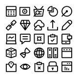 SEO and Marketing  icons 6 Royalty Free Stock Photos