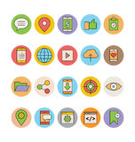 SEO and Marketing Vector Icons 2 Stock Image