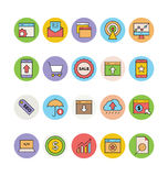 SEO and Marketing Vector Icons 4 Royalty Free Stock Image