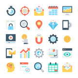 SEO and Marketing Vector Icons 7 Royalty Free Stock Image