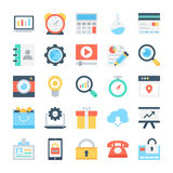 SEO and Marketing Vector Icons 2 stock illustration