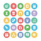 SEO and Marketing Vector Icons 2 Royalty Free Stock Photo