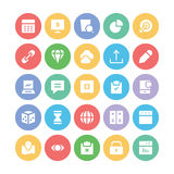 SEO and Marketing Vector Icons 6 Royalty Free Stock Photos