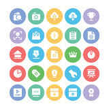 SEO and Marketing Vector Icons 4 Stock Photos