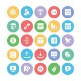 SEO and Marketing Vector Icons 5 Royalty Free Stock Photography