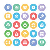 SEO and Marketing Vector Icons 8 Stock Photos