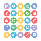 SEO and Marketing Vector Icons 1 Royalty Free Stock Image