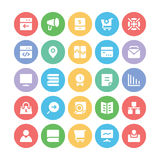 SEO and Marketing Vector Icons 7 Stock Photo