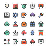 SEO and Marketing Vector Icons 8 Royalty Free Stock Photography