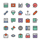 SEO and Marketing Vector Icons 6 Stock Image