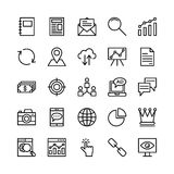 Seo and Marketing Vector Icons 4 Stock Photography