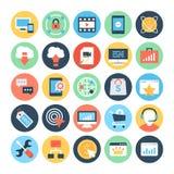 SEO and Marketing Vector Icons 2 Stock Photos