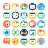 SEO and Marketing Vector Icons 3. Set of SEO and Marketing Vector Icons that i am sure you will find absolutely bursting for the marketing and promotion of your Royalty Free Stock Images