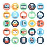 SEO and Marketing Vector Icons 7 Stock Image
