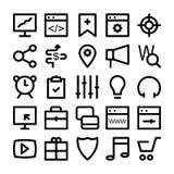 SEO och marknadsföringssymboler 3 Arkivbilder
