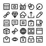 SEO och marknadsföringssymboler 6 Royaltyfria Foton