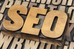 SEO - optimisation de moteur de recherche Photographie stock