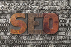 Seo - optimisation de Search Engine Photos libres de droits