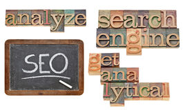 SEO - optimisation de Search Engine Image stock